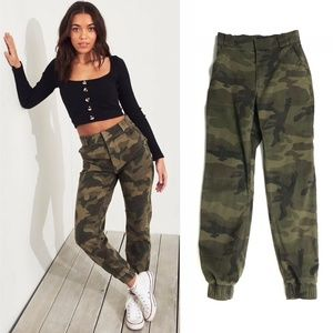 Hollister Ultra High Rise Camouflage Joggers :108